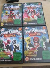 4 x DVD´s Power Rangers 1,9,10,12