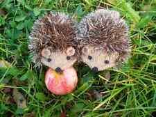 Knit  Light Brown Hedgehog Mittens Gloves  children's