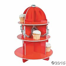 Fun Express Fire Hydrant Cupcake Holder, 15 3/4 x 11 - inches by Fun Express AOI