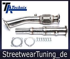TA Technix Zoll Edelstahl-Downpipe 76mm 3 Zoll - 1.8T 20V Audi A3 8L, Golf 4