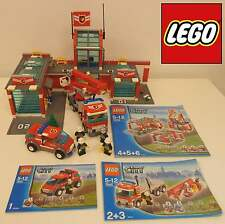 Play Gioco Game Set Mattoncini LEGO 2007 Stazione Pompieri 7945 - Fire Station -