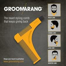 New Groomarang Beard Comb Styling and Shaping Template Comb Tool Fast and Easy
