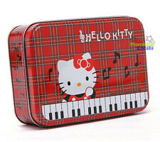 New Cute Hello Kitty Multipurpose Metal Storage Box Case Jewelry Box