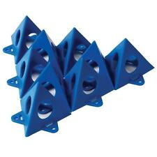 Painter's Pyramids Stands with New Tab Feature Supports 200lbs 10-Pack (Blue)
