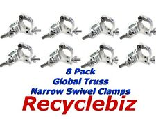 NEW! (8 PACK) Global Truss Narrow Swivel Clamp Swivel Clamp/N  FREE  SHIPPING