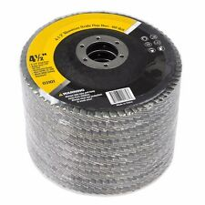 "4.5"" X 7/8"" Sand Paper FLAP DISC SANDING GRINDING CUTTING 60 GRIT PACK 10"
