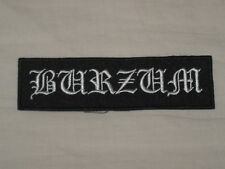 BURZUN - RARE PATCH !!!! LP CD - MAYHEM, DARKTHRONE, EMPEROR, IMMORTAL, BATHORY