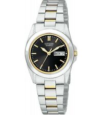 Citizen EQ0564-59E Ladies Two Tone Stainless Steel Day Date Quartz Classy Watch