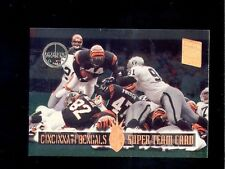 1994 Stadium Club CINCINNATI BENGAL Super Teams Members Only Card DERRICK FENNER