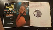 Ninapinta & His Bongos & Congas - The Downtown Scene RARE U.K. NM Condtion Promo