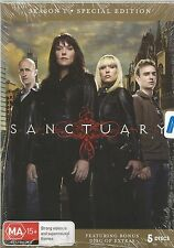 SANCTUARY  -  SEASON 1.   /    SPECIAL  5 DISC EDITION  DVD SET.   NEW & SEALED.