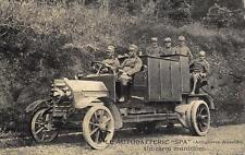 X812) WW1 AUTOBATTERIE SPA, ARTIGLIERIA ANSALDO UN CARRO MUNIZIONI.
