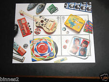 THE BEATLES COMMEMORATIVE  ROYAL MAIL 2007 BRITISH STAMPS (4) SET MINT 1st CLASS