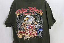 Daytona Beach Bike Week T Shirt Top Florida Bike Bash Rally Ride Cycle 2013 M