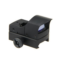 Neu MIni Tactical Holographic Reflex Rot Grün Dot Sight Scope 20mm Rails
