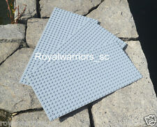 x3 Light Gray Base plate for Lego building brick grey board compatible 16x32 Dot