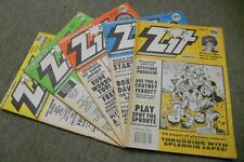 Collection of 5 Zit Comics: Issues 2, 3, 4, 5 & 6. by Zit