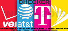 Check IMEI ESN iPhone Samsung Carrier AT&T Sprint T-Mobile Financial Swap Info