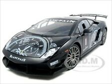 LAMBORGHINI GALLARDO LP560-4 SUPER TROFEO BLACK 1/18 MODEL CAR BY MOTORMAX 79153