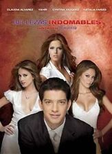 BELLEZAS INDOMABLES 4 DVD BOX SET NEW 13 HOURS WILL SHIP SAME DAY