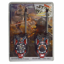 Star Wars The Clone Wars Trooper Serie Con Pilas Walkie Talkie Juguete Set