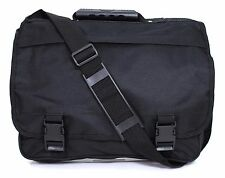 Men Women School Laptop Satchel Shoulder Bag Messenger College Handbag Black