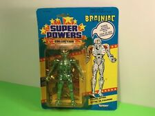 1984 KENNER DC COMICS SUPER POWERS ACTION FIGURE MOC BRAINIAC SILVER FRENCH CARD