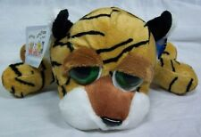"Russ Animal Junction PAULY-D THE BIG EYED TIGER 10"" Plush STUFFED ANIMAL Toy NEW"