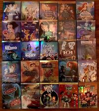 Lot 5 Disney DVDs: Beauty and the Beast, Aladdin, Cinderella,Monsters & more