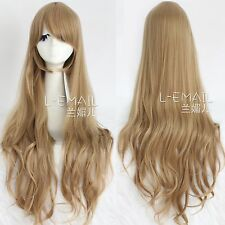 TIGER×DRAGON!Aisaka Taiga  Cosplay  brown Wig Anime  long wave wig