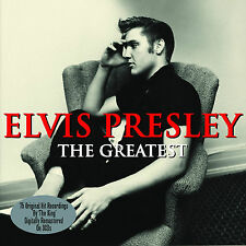 "ELVIS PRESLEY ""THE GREATEST""  3 CD BOXSET * 75 Original Hits * New + Sealed"
