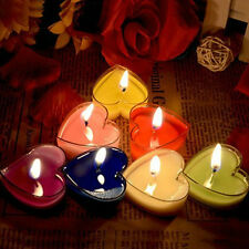 1x Heart Style Candle Light Dinner Valentine's Day Birthday Holders Decor Random