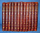 Robert Burns 1908 Complete Works 12 Vol Set Binding Antique Woodcuts Illustrated