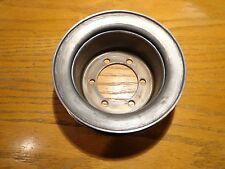 66-68 Mopar 426 Hemi Charger GTX Satellite Crank Pulley with Power Steering