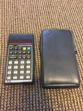 Hewlett Packard HP 32E Calculator With Leather Case