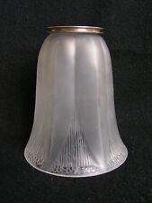 ancienne tulipe pour lustre ou lampe signée rené lalique art deco n°2