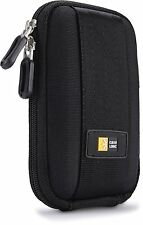 Case Logic QPB301K Camera Case Lightweight EVA Shell And Internal Pocket Black