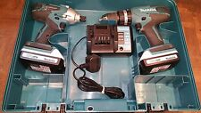 Makita 18v G Series Combi Drill - Twin Pack.