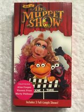 Best of the Muppet Show (Prev. Viewed VHS) Alice Cooper, Vincent Price RARE! HTF
