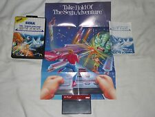 R-Type Sega Master System Game COMPLETE rtype r type 1 Poster cart booklet box