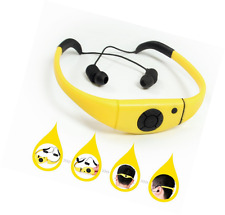 Tayogo 2014 Upgraded Waterproof Mp3 Headset Music Player, 8gb Memory Hi-fi Stero