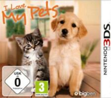 Nintendo 3ds I Love My Pets alemán OVP impecable