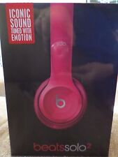 Beats by Dr. Dre Solo2 Headband Headphones - Gloss Pink
