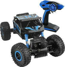 2.4Ghz 1/18 Scale Remote Radio Control 4 Wheel Drive Rock Crawler Toy Car BLUE