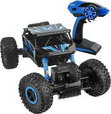 2.4Ghz 1/18 Scale Remote Radio Control 4 Wheel Drive Rock Crawler Toy Car BLUE