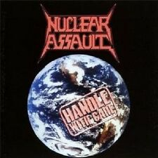 "NUCLEAR ASSAULT ""HANDLE WITH CARE""  CD THRASH METAL NEW+"
