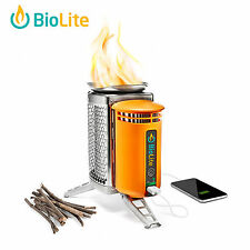 BioLite CampStove w/ USB Charger Electricity Wood Burnig Cooking Stove