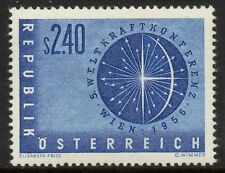 AUSTRIA SG1283 1956 5th WORLD POWER CONFERENCE VIENNA MNH