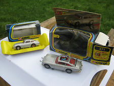 CORGI 271 270 ORIGINAL JAMES BOND ASTON MARTINS FROM 1978&1995 AS DESCRIBED