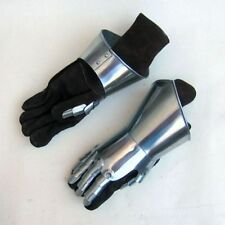 METAL GAUNTLET ~ GAUNTLET GLOVES STEEL ~ MEDIEVAL KNIGHT CRUSADER SPARTAN ARMOR
